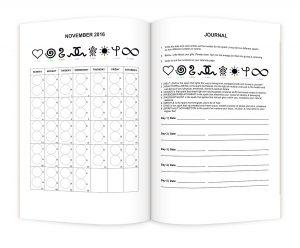 calendar-journal-web-page