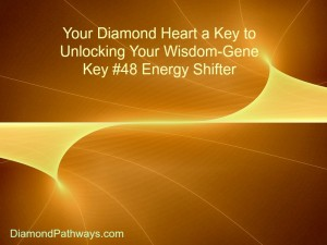 Diamond Heart Gene Key #48